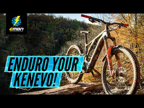 The 'Kenduro' - Making a Specialized Kenevo More Enduro