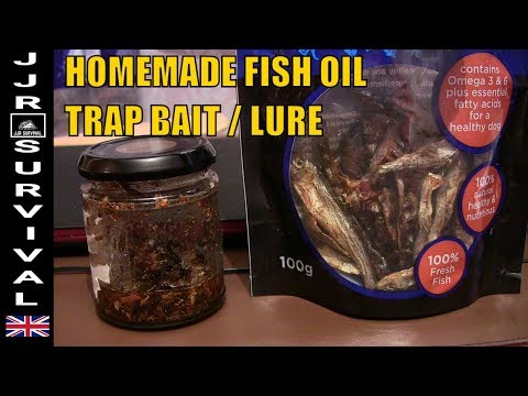 Fish Oil Trap Bait / Lure