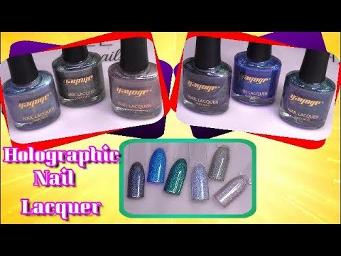 BEAUTIFUL HOLOGRAPHIC NAIL LACQUER | YAYOGE | ABSOLUTE NAILS