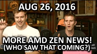 The WAN Show - PCI Express 4.0, Android Nougat.. & More AMD Zen - August 26th 2016