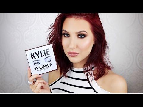 Kylie Kyshadow Palette   Tutorial + First Impressions
