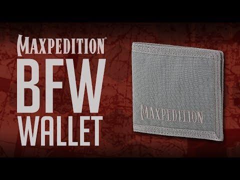 MAXPEDITION Advanced Gear Research BFW Bi-Fold Wallet
