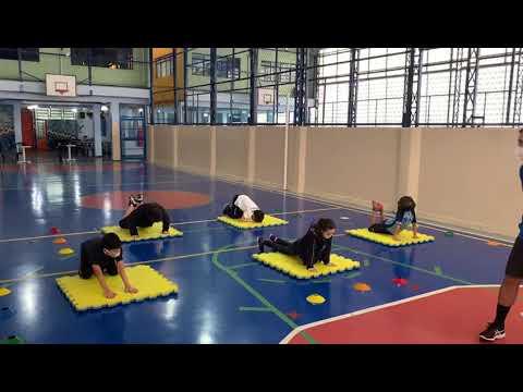 Aula de Educação Física híbrida - Prof. Paulo Júnior - 5º Ano A