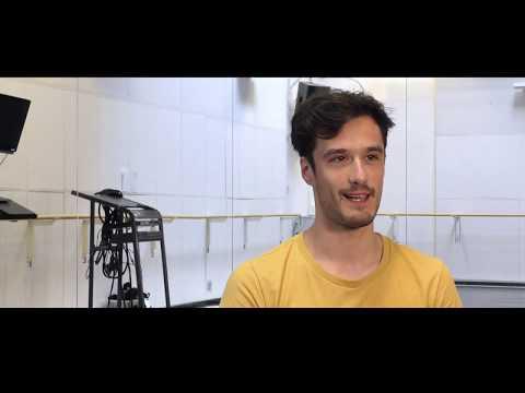 Skånes Dansteater, UNCHARTED, repetitioner, intervju / rehearsals, interview Kit Brown