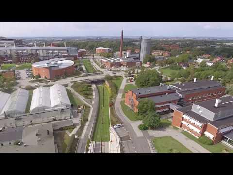 Se Spårväg Lund C - ESS från ovan