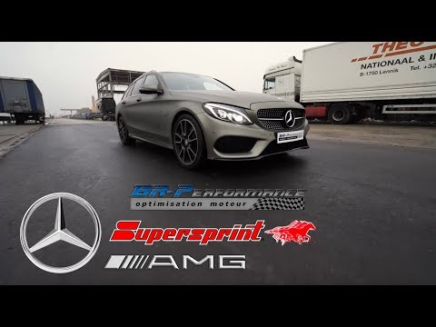 Mercedes C450 AMG Remap Stage 1 By BR-Performance