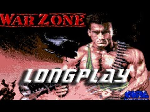 War Zone (Commodore Amiga) Longplay