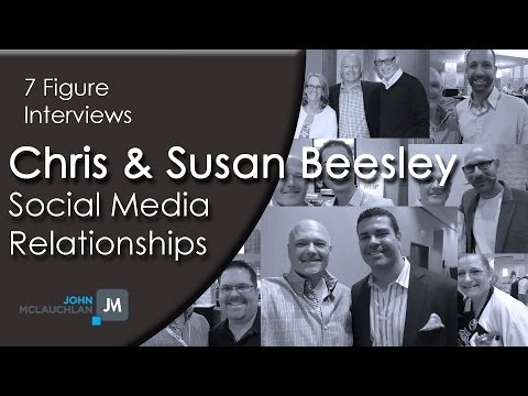 Social Media Relationship Building Marketing with Chris and Susan Beesley