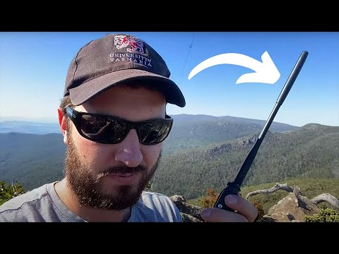 My First Summits on the Air (SOTA) Activation!