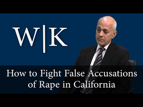 Defenses to Rape Charges in California (PC 261)