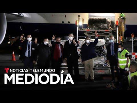 Llegan a México las primeras 200,000 dosis de la vacuna rusa Sputnik V
