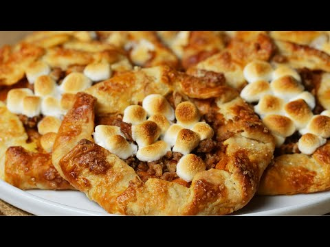 Sweet Potato Casserole Mini Galettes ? Tasty