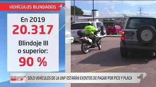 Vehículos blindados a pagar para no tener 'Pico y placa'