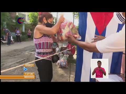 Distribuyen en Granma módulos alimenticios donados a Cuba