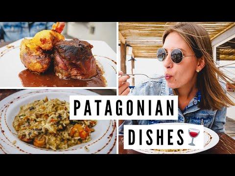 TANTALIZING Argentine Food: PATAGONIAN LAMB + MUSHROOM RISOTTO in Puerto Madryn, Argentina