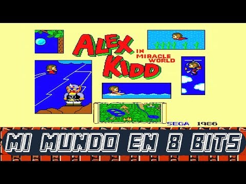 ALEX KIDD IN MIRACLE WORLD - Sega Master System - GUÍA / GAMEPLAY - ESPAÑOL CASTELLANO