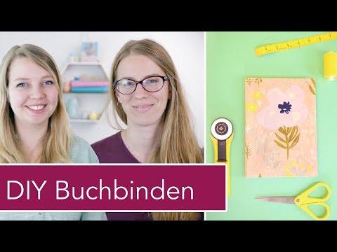 DIY Buchbinden: Näh-Journal gestalten mit Sinah von Kreativgefühl