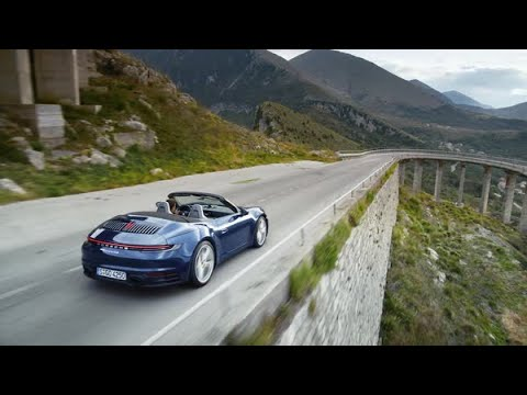 The new 911 Cabriolet: First Driving Footage