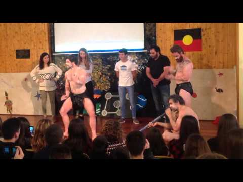 Australiako aborigenak Begonazpi Ikastolan