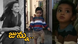 Bigg Boss 4 Telugu Lasya Son Junnu Excited To See His Mom In Bigg Boss House | #Biggbosstelugu4 - TFPC