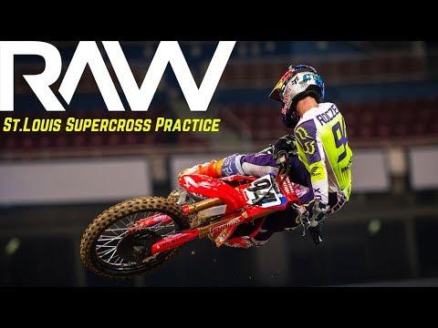 St. Louis Supercross Practice RAW - Motocross Action Magazine