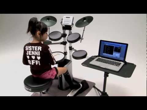 V-Drums Lite HD-3/DT-1 V-Drums Tutor Overview