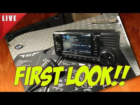 Icom IC-705 First Look