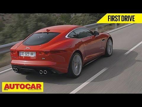 Jaguar F Type Coupe V6S & V8R | First Drive Video Review