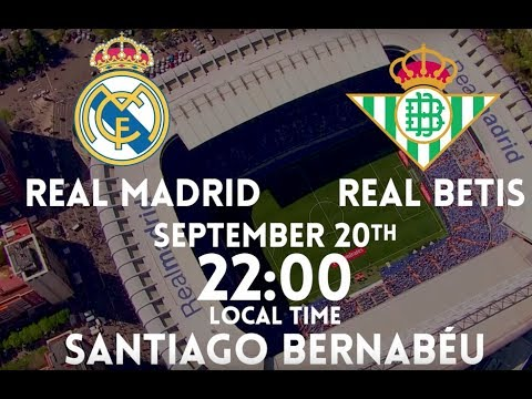 Real Madrid vs Real Betis: Match build-up