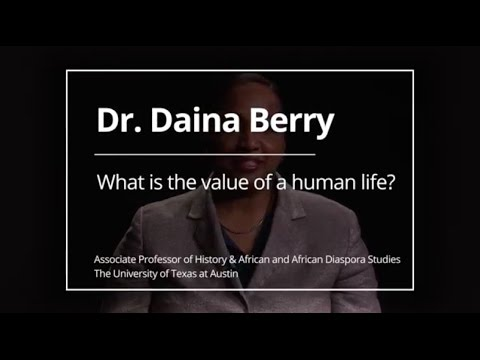 The Value of A Human Life