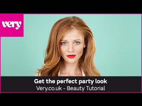 very.co.uk & Very Voucher Code video: How to Get the Perfect Party Look | Very Beauty