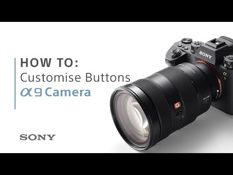 How to set up customisable buttons on your camera