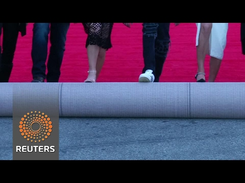 The red carpet for the Screen Actors Guild awards gets rolled out