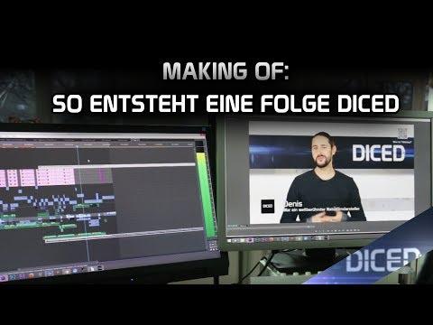 Making of DICED | So entsteht eine Folge der Tabletopshow | VLOG