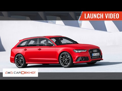 2015 Audi RS6 Launch in India | CarDekho.com