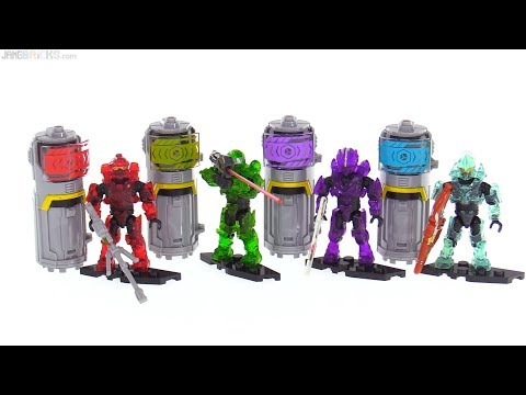 connectYoutube - 4x Mega Construx Halo Power Packs reviewed