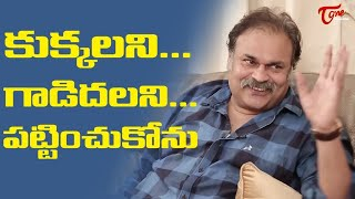 కుక్కలని.. గాడిదలని పట్టించుకోను | Nagababu Sensational and Interesting Comments | TeluguOne - TELUGUONE