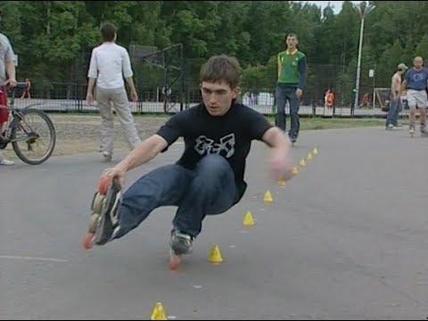 Мест для катания на роликах в Томске нет. Архив ТВ2. 2008 год