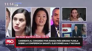 Avanza País Adriana Tudela: Conferencia de prensa, candidatos y elecciones y vacunas ???? PBO 91.9 FM