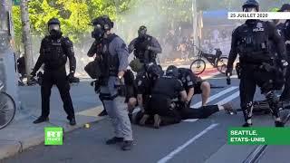Black Lives Matter : affrontements lors d'une manifestation à Seattle