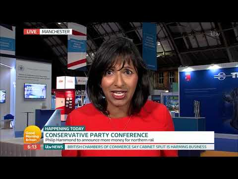 connectYoutube - Ranvir Reports From the Conservative Party Conference | Good Morning Britain