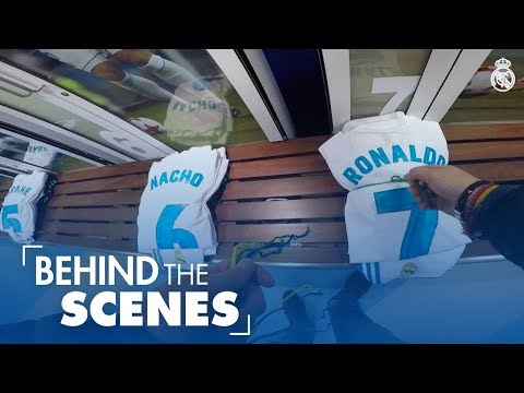 Inside the Real Madrid changing rooms