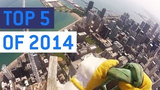 Top 5 Most Insane POV Videos of 2014    JukinVideo Top Five