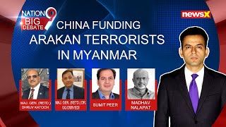 China funding Arakan terrorists in Myanmar | NewsX - NEWSXLIVE