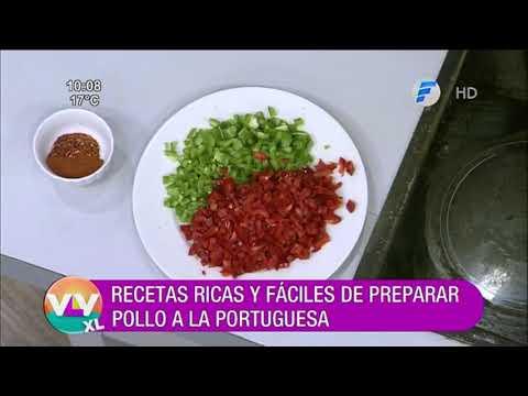 Pollo a la Portuguesa | Recetas Vive la Vida XL