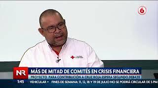 Más de la mitad de comités de la Cruz Roja en crisis financiera