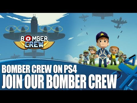 Bomber Crew PS4 Gameplay - We Should Not Form A Bomber Crew!
