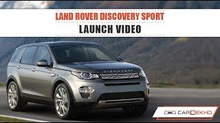 Land Rover Discovery Sport | Launch Video | CarDekho.com