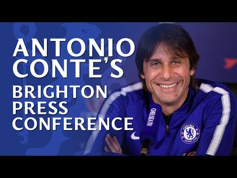 Antonio Conte Press Conference | Brighton v Chelsea