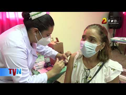 Continúan aplicando vacuna contra la Covid-19 en Nicaragua